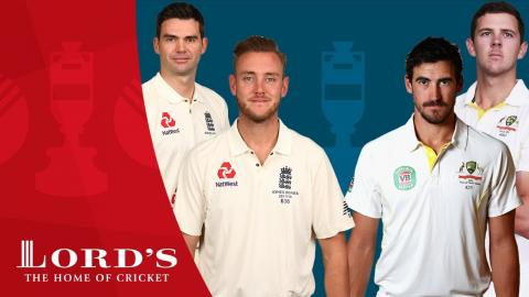 Jimmy Anderson/Stuart Broad vs Mitchell Starc/Josh Hazlewood | Ashes Who's The Greatest