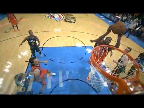 Kevin Durant Pours in 31, Leads Thunder to OT Win