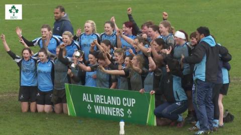 Irish Rugby TV: Women's All-Ireland Shield/Plate/Cup Finals Highlights