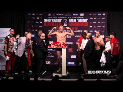 HBO Boxing News: Kovalev and Mohammedi Weigh-In