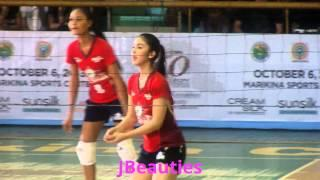 Julia Barretto Kapamilya Allstar Volleyball Part1