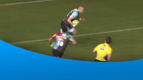 Chisholm fantastic Try Saving tackle