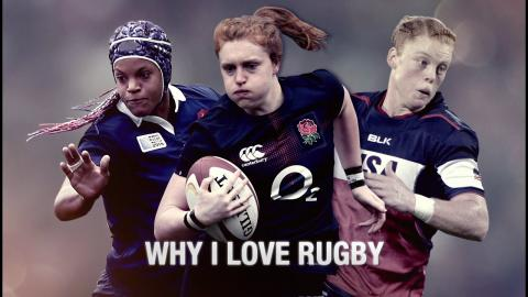 Why I love rugby: Alev Kelter, Harriet Millar-Mills and Safi N'Diaye