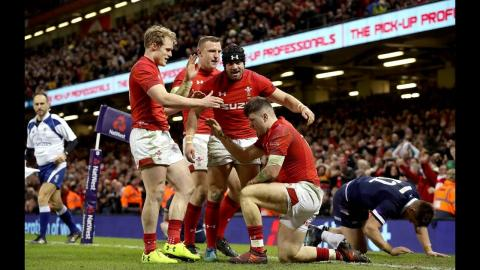 Extended Highlights: Wales 34 - 7 Scotland | NatWest 6 Nations