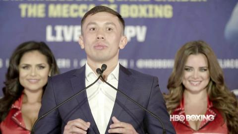 HBO Boxing News: Golovkin vs. Jacobs Final Press Conference Recap