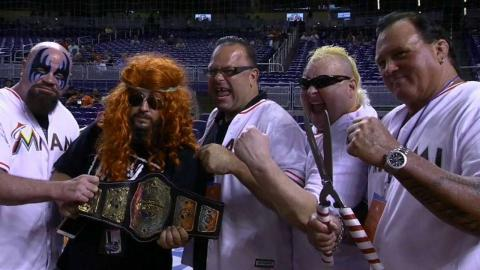 SD@MIA: Wrestling Night takes place at Marlins Park