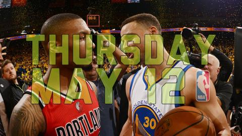 NBA Daily Show: May 12 - The Starters