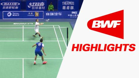 TOTAL BWF Thomas & Uber Cup Finals 2016 | Badminton-Day 2/S3-Thomas Cup GrpA CHI vs FRA-Highlights