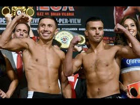 Gennady Golovkin vs David Lemieux Weigh In Results Final Prediction Fight Analysis Breakdown