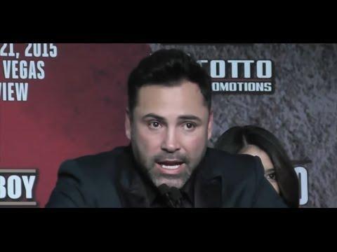 Oscar Delahoya Already Backpedaling On Saul Canelo Alvarez vs Gennady GGG Golovkin !!