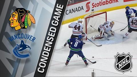 12/28/17 Condensed Game: Blackhawks @ Canucks