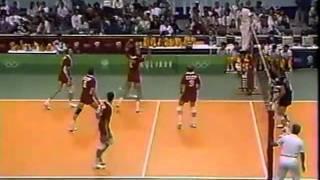'88 Men's Olympic Volleyball: USA Vs Soviet Union