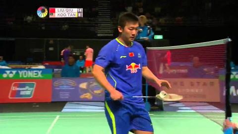 THE STAR Australian Open 2015 | Badminton QF Match 1 - MD