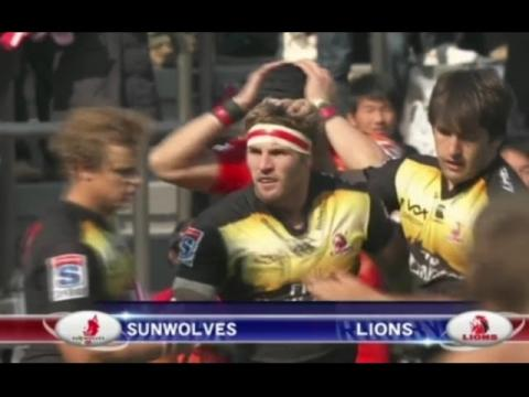 Sunwolves vs Lions TOP 3 Players  | Super rugby 2016