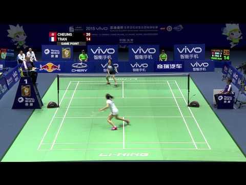 VIVO BWF SUDIRMAN CUP 2015   Hong Kong vs France - Day 3 Highlights