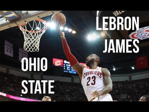 LeBron James Performance At Ohio State In NBA Preseason!