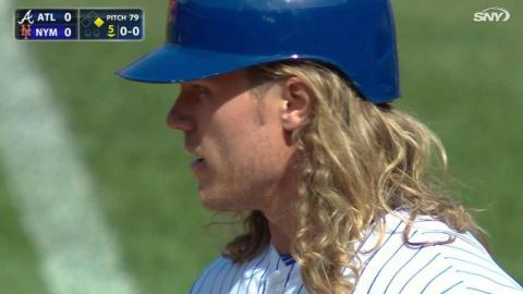 ATL@NYM: Thor singles to right in the 5th