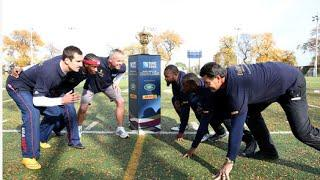 DHL's Rugby Vs. The World Challenge: American Football