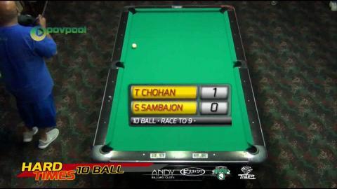 #10 - Tony CHOHAN vs Santos SMABAJON • 2016 Hard Times 10-Ball