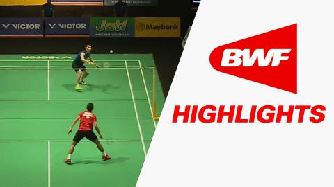 Victor Far East Malaysia Masters 2016 | Badminton SF – Highlights