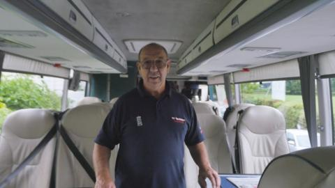 England Tour Diaries Ep 4: Alexander the great bus driver.