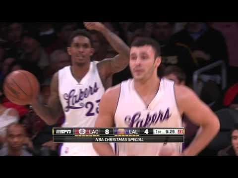 Larry Nance Jr. Scores on Own Basket