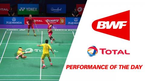 Performance Of The Day | Badminton Day 2 Grp 1A-THA vs HKG - TOTAL BWF Sudirman Cup 2017
