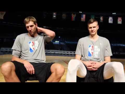 Dirk and Kristaps Strengthen Their Friendship