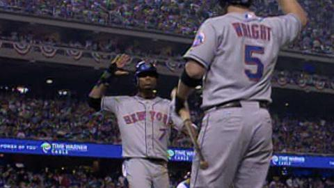 2006 NLDS Gm3: Mets score three in the 6th, take lead