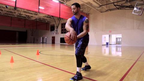Basketball Dribbling Moves- In & Out (Part 4)