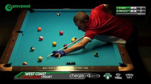 #9 • Dennis ORCOLLO vs John SCHMIDT vs / 2016 WCC 1Pkt