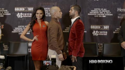 Cotto vs. Ali Press Conference Recap (HBO Boxing News)