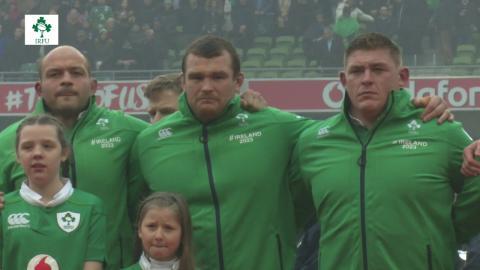 Irish Rugby TV: Ireland v England Tunnel Cam