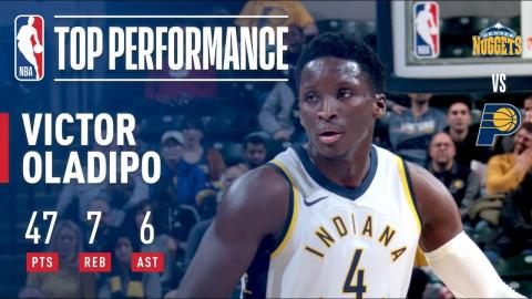 Victor Oladipo Scores CAREER-HIGH 47 Pts, Leads Pacers in OT Win | December 10, 2017