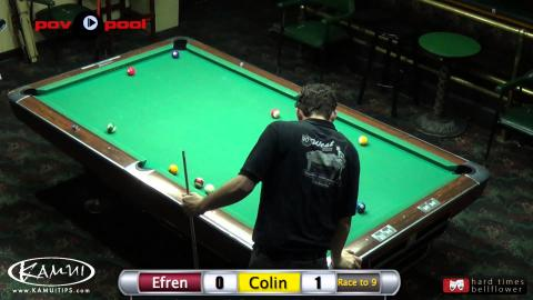 Efren Reyes vs Colin Angle - 8-Ball / PT 2