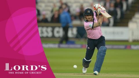 Middlesex v Somerset | NatWest t20 Blast Highlights