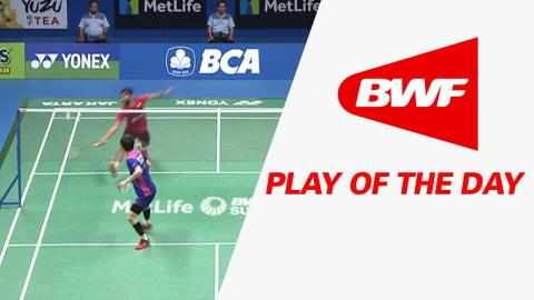 Play Of The Day | Badminton SF - BCA Indonesia Open 2017
