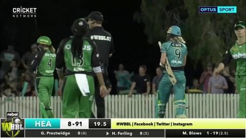 Melbourne Stars v Brisbane Heat, WBBL|03