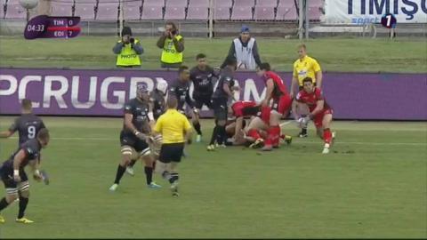 European Rugby Challenge Cup 2016/2017: Timisoara Saracens v Edinburgh 15.10.2016