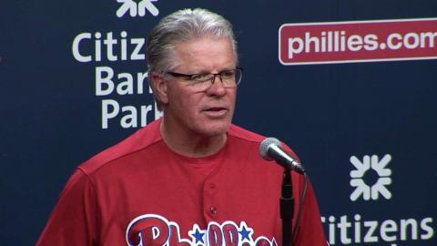 ATL@PHI: Mackanin on win and bright spots on the team