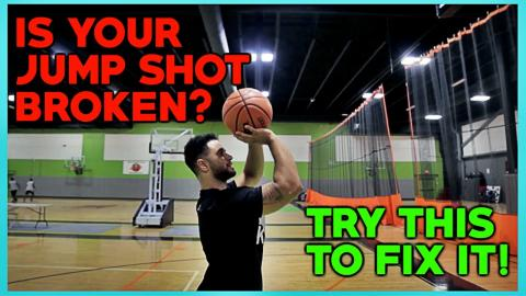 HOW TO SHOOT A BASKETBALL BETTER!! (Even If Your Jump Shot Is Broken)