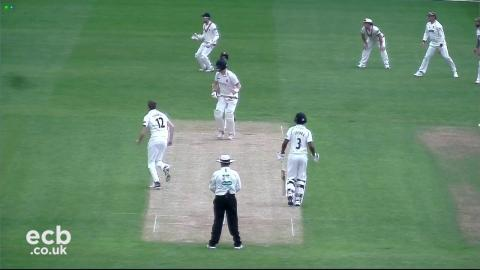 Abell and Trego boost Somerset - Day 1 v Warwickshire