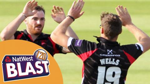Battle Of The Bowlers At Emirates Riverside - Durham v Leicestershire NatWest T20 Blast 2017