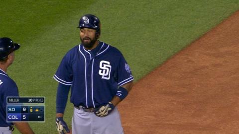 SD@COL: Kemp triples in 9th for Padres' first cycle