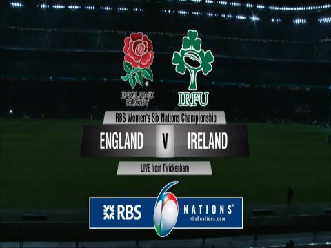 England Women v Ireland Women Full Replay 27th Feb 2016