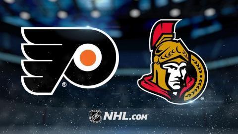 Pageau helps propel Senators past Flyers, 5-4