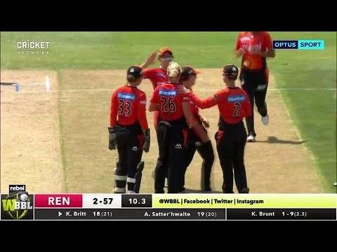 Melbourne Renegades v Perth Scorchers, WBBL|03