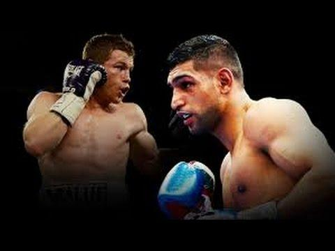 Amir Khan Says He Will  Be 165 lbs vs Canelo Alvarez !! Best Weight For Khan To Fight Canelo ??