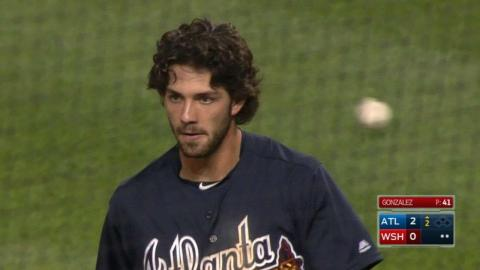 ATL@WSH: Swanson belts an inside-the-park home run