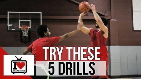 5 Simple Basketball Shooting Drills To Shoot Better!